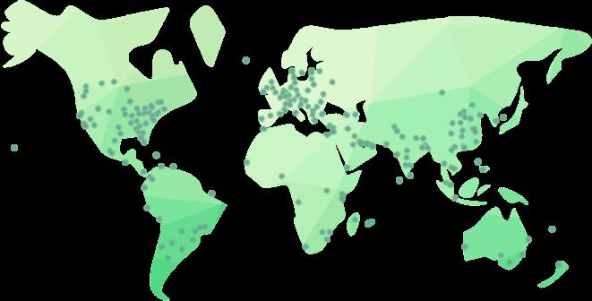 CDN locations worldwide