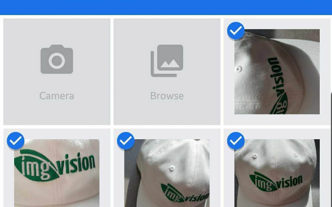 Uploading images from your Android smartphone or Android tablet