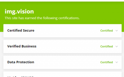 Img.vision is certified as a safe site