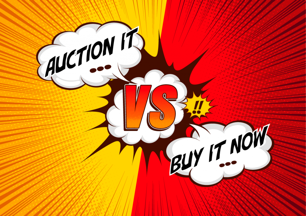eBay: Auction It vs Buy It Now